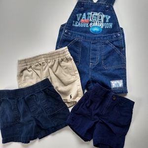 ✨ 5/$25✨ 👶 18/24 mo Shorts/Overalls